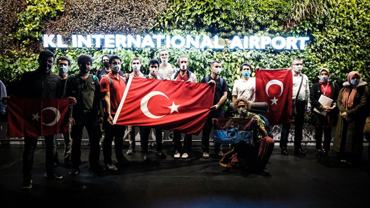 Korona sonrası tahliye edilen Türk sayısı açıklandı