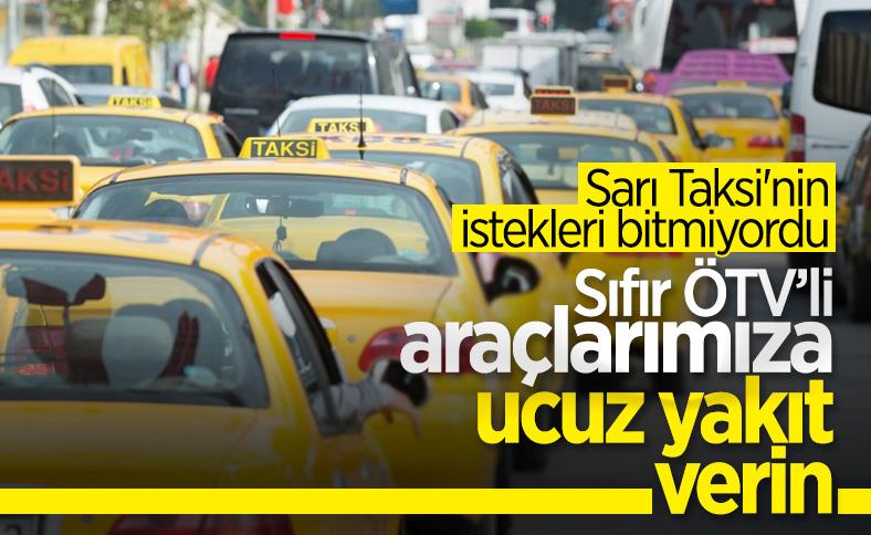 Taksicilerden koronavirüs yardım talebi