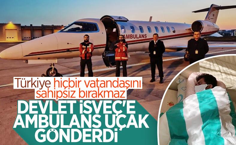 İsveç'teki Gülüşken ailesi Türkiye'ye getirildi