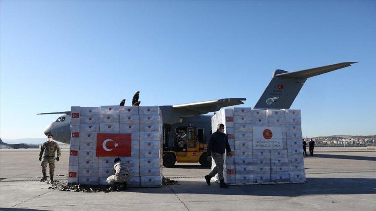 Türkiye'nin yardım gücü gururlandırdı