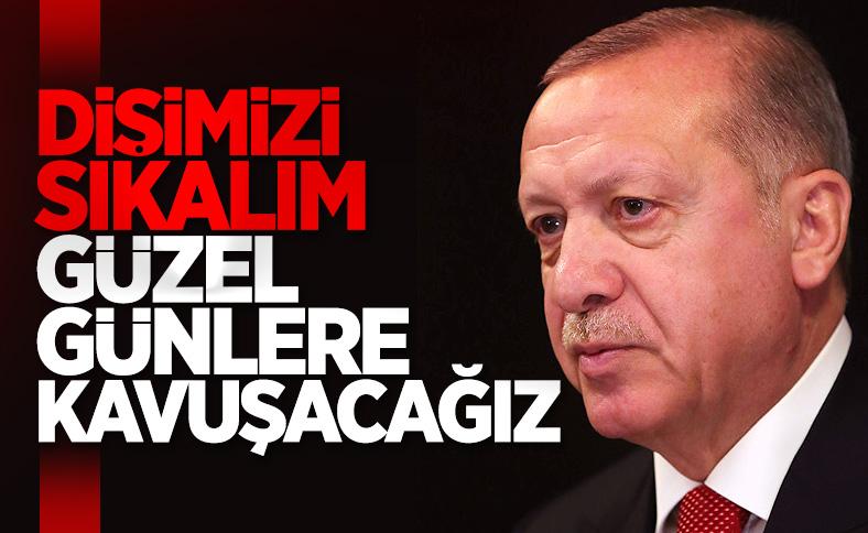 Cumhurbaşkanı Erdoğan MYK öncesi konuştu