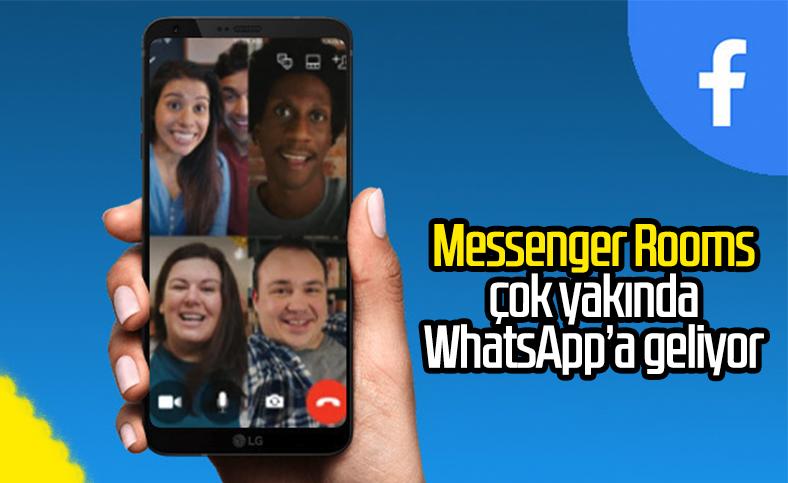 Facebook'un Messenger Rooms özelliği WhatsApp'a gelecek