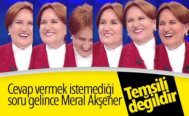 Canlı yayında Meral Akşener'in kahkahaları