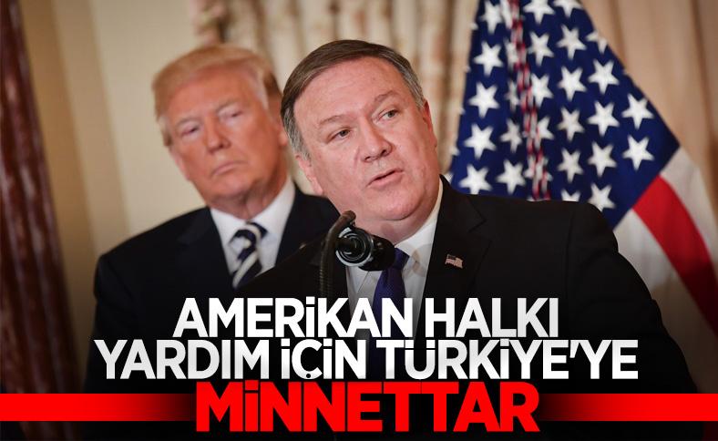 ABD Dışişleri Bakanı Pompeo, Türkiye'ye teşekkür etti