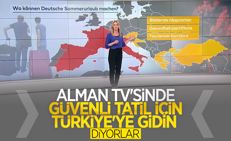 Almanya, Türkiye'yi güvenli seyahatin adresi yaptı