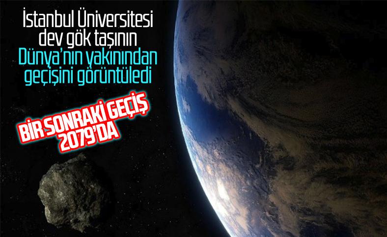 İstanbul Üniversitesi dev gök taşını görüntüledi