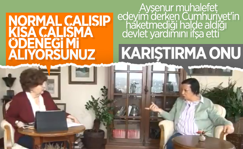 Halk TV'de kısa çalışma ödeneği konuşuldu