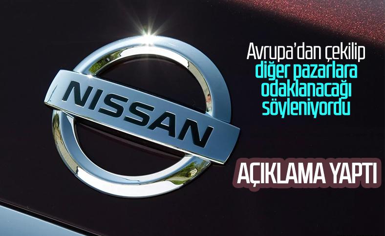 Nissan, Avrupa'dan çekileceği iddialarına yanıt verdi