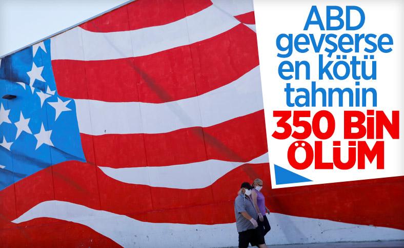 ABD normalleşirse, koronadan ölümler 350 bini bulacak