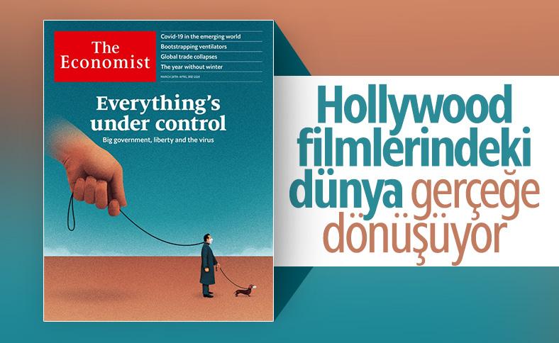 The Economist'in kapağı: Her şey kontrol altında