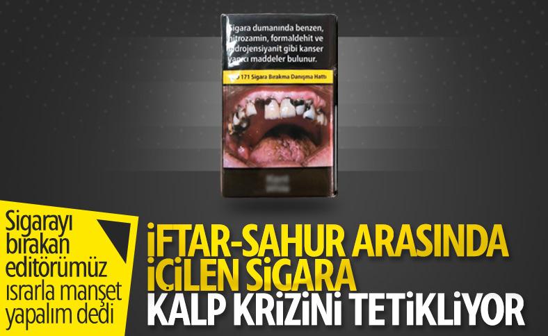 İftardan sonra peş peşe sigara içmenin zararları