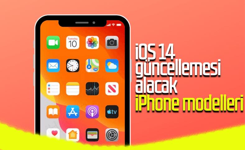 iOS 14 güncellemesi alması beklenen iPhone modelleri