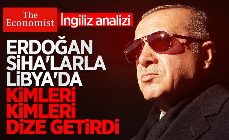 Economist: Türk İHA'ları Libya'da dengeleri değiştirdi
