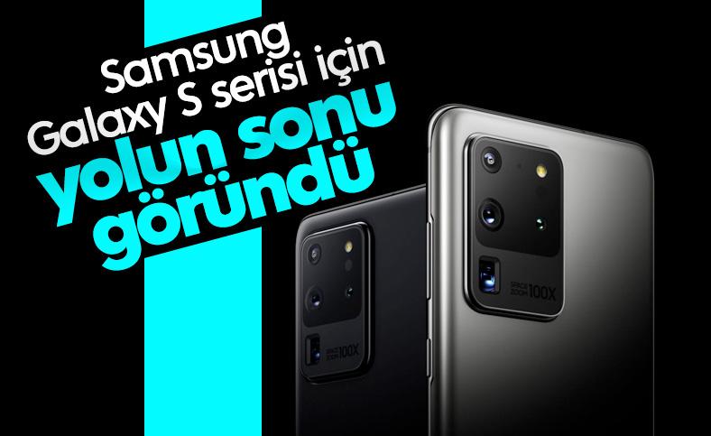 Samsung, artık satmayan Galaxy S serisinin fişini çekebilir