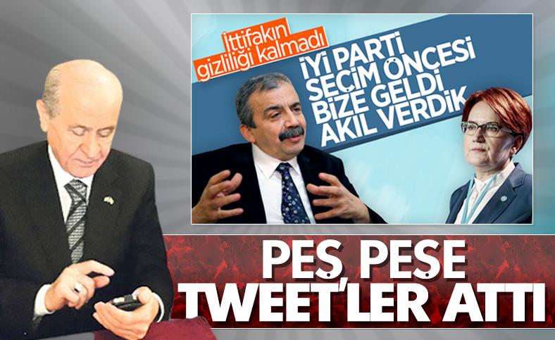 Bahçeli'den İyi Parti ve HDP'ye ağır gönderme