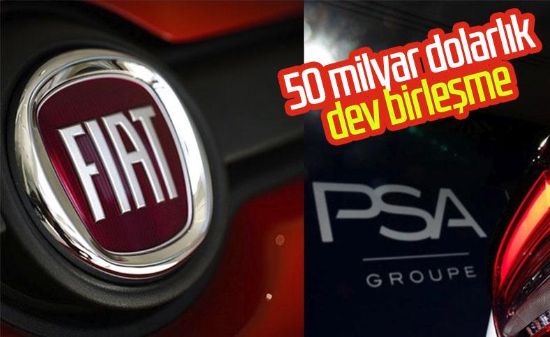 Fiat Chrysler ve PSA'dan 50 milyar dolarlık birleşme