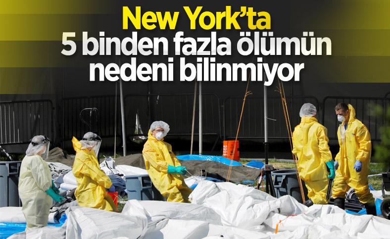 New York'ta 5 binden fazla ölümün nedeni tespit edilemedi