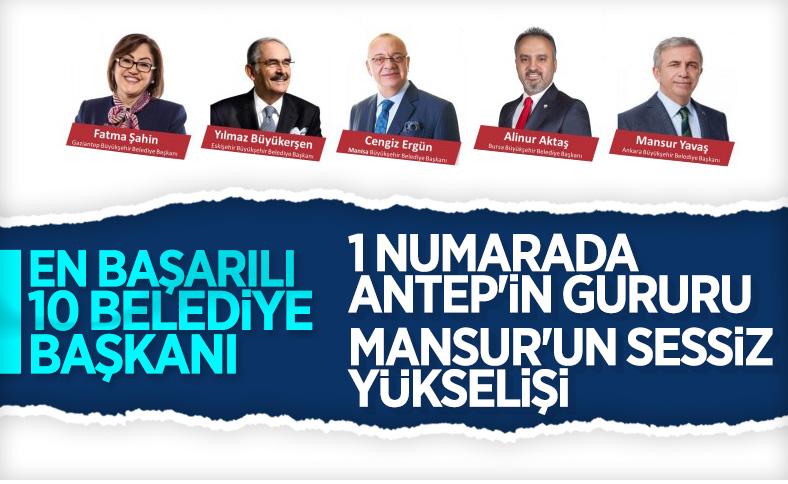 En başarılı büyükşehir belediye başkanları listesi