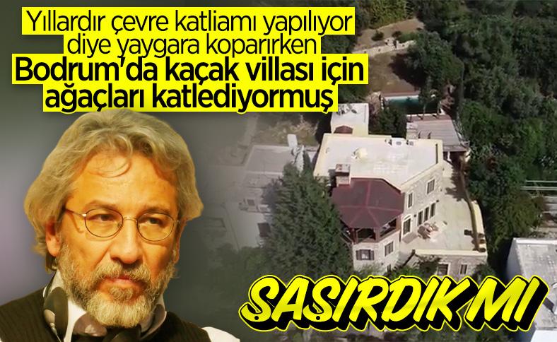 Yılmaz Özdil'in ardından Can Dündar'ın da villası kaçak çıktı