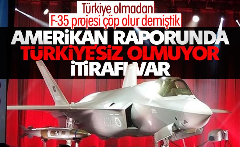 ABD Kongresi'ne sunulan F-35 raporu