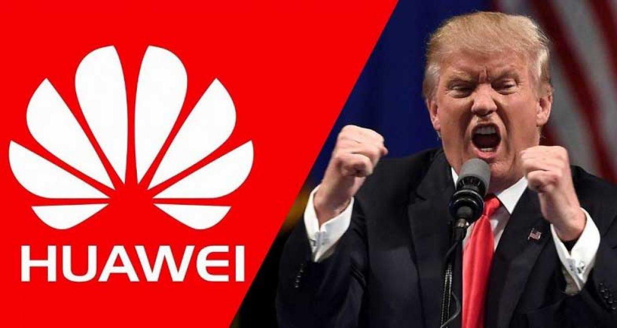 Donald Trump, Huawei yasağını 1 yıl uzattı