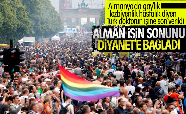 Almanya'da eşcinsellik hastalık diyen Türk doktor kovuldu