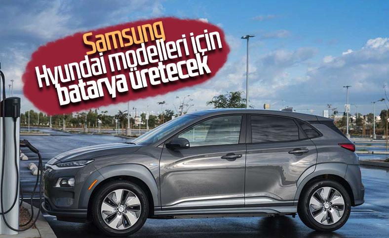 Samsung ve Hyundai, elektrikli otomobiller için anlaştı