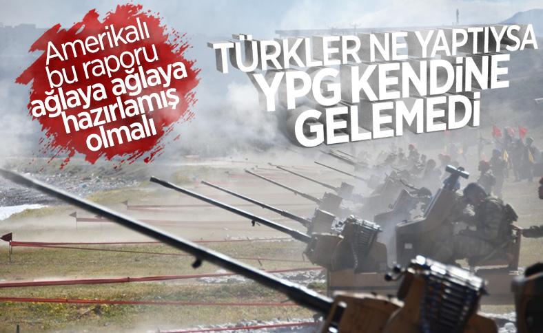 Türkiye'nin YPG'ye vurduğu darbe Pentagon raporunda