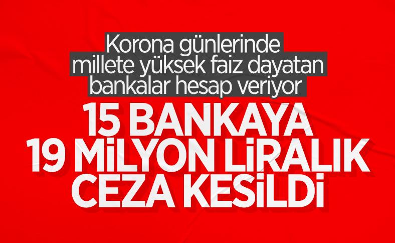 BBDK'dan 15 bankaya yüklü miktarda ceza