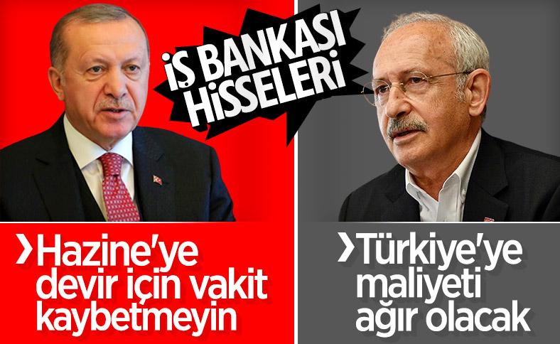 AK Parti'nin İş Bankası hazırlığı Kılıçdaroğlu'na soruldu
