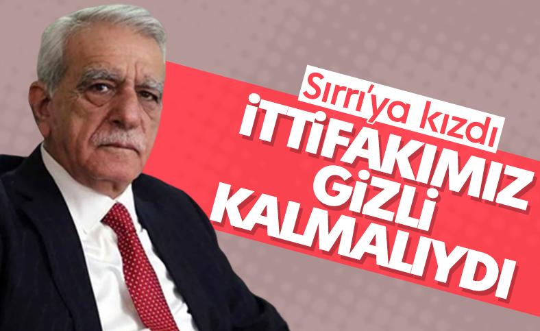 Ahmet Türk: Saklı kalması gereken bazı şeyler vardır