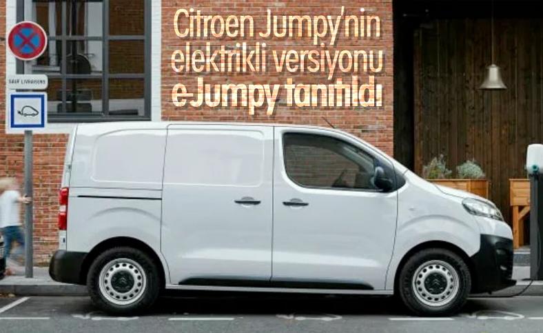 Citroen'in elektrikli modeli e-Jumpy tanıtıldı