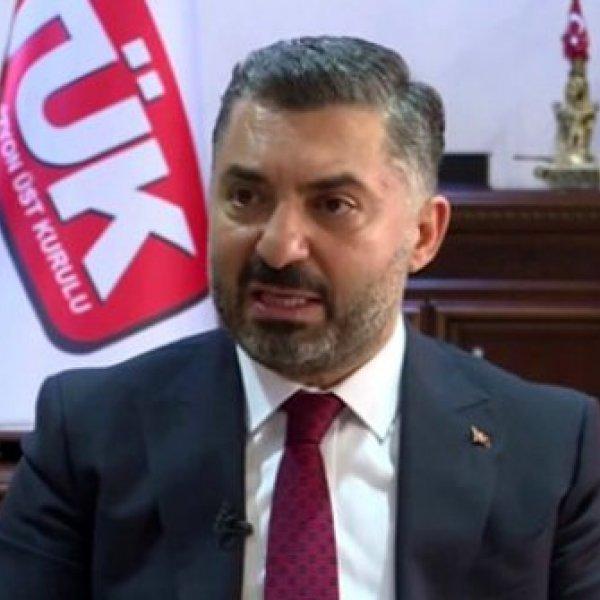 RTÜK Başkanı Şahin'den CHP'ye cevap