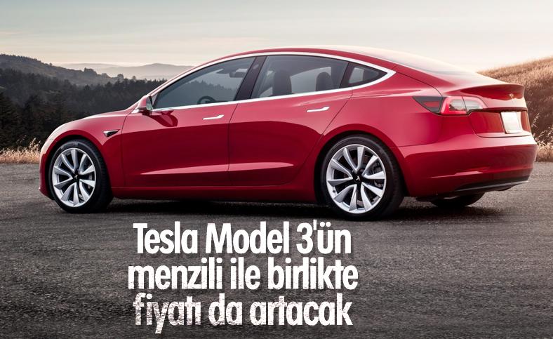 Tesla Model 3'ün uzun menzilli sürümü üretilecek