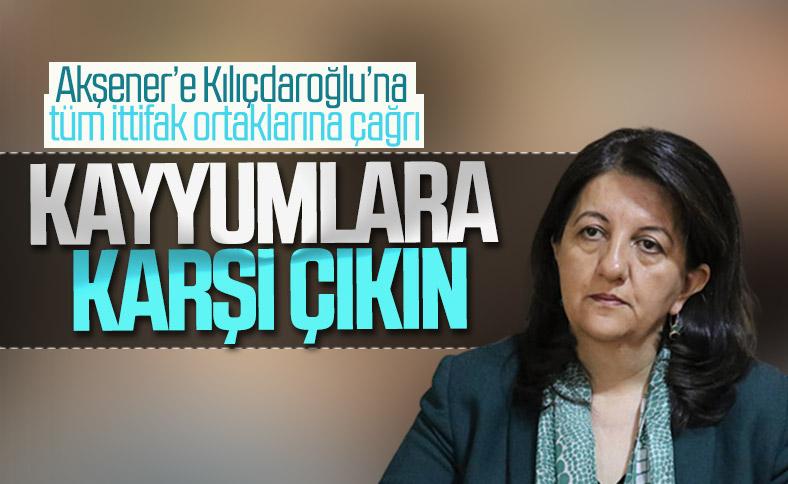 HDP'den CHP ve İyi Parti'ye kayyumlar için destek çağrısı