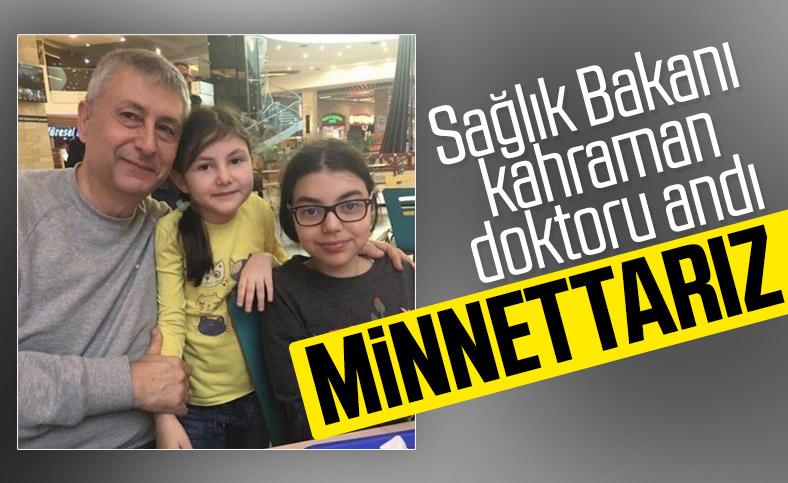 Sağlık Bakanı Fahrettin Koca'dan Yavuz Kalaycı paylaşımı