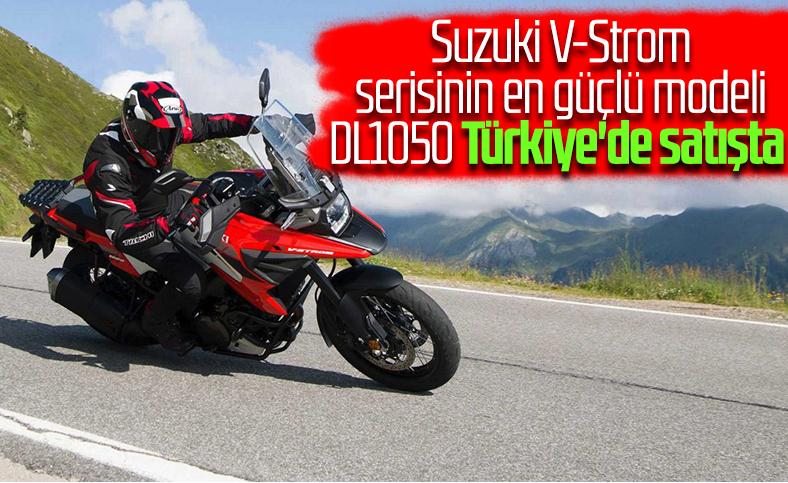 Suzuki V-Strom 1050 Türkiye'de satışa çıktı