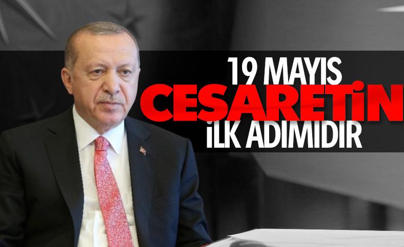 Cumhurbaşkanı Erdoğan, 19 Mayıs'ın önemini anlattı