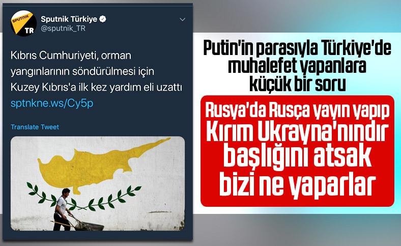 Sputnik, Kıbrıs'ı Rumlara verdi
