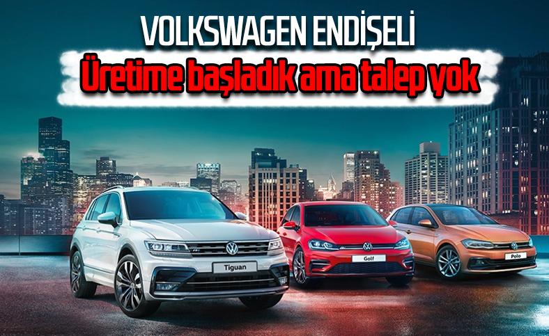 Volkswagen, düşük talep nedeniyle işçi çıkarmaya başladı