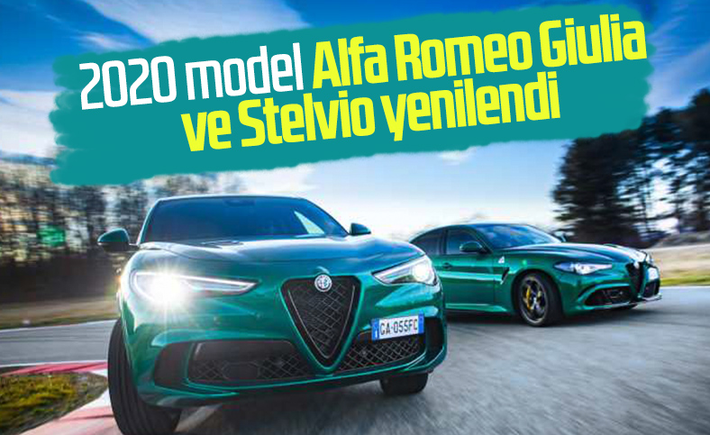 2020 model Alfa Romeo Giulia ve Stelvio tanıtıldı