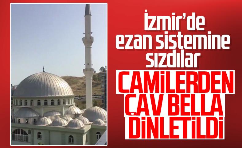 İzmir'de cami hoparlörlerinden 'Çav Bella' çalındı
