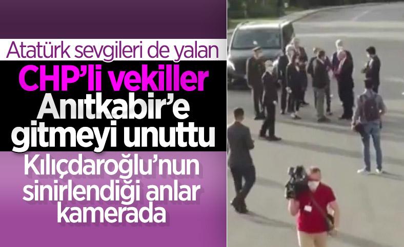 19 Mayıs'ı unutan CHP'liler Kılıçdaroğlu'nu sinirlendirdi