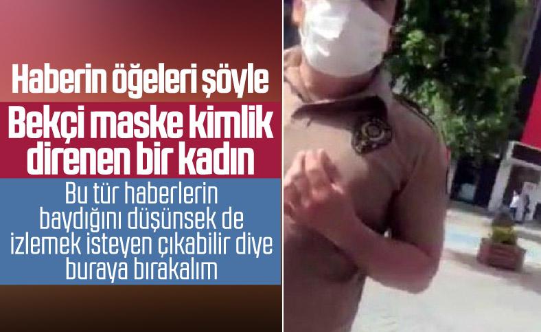 Bekçilere direndi, polis ceza keserken ağladı