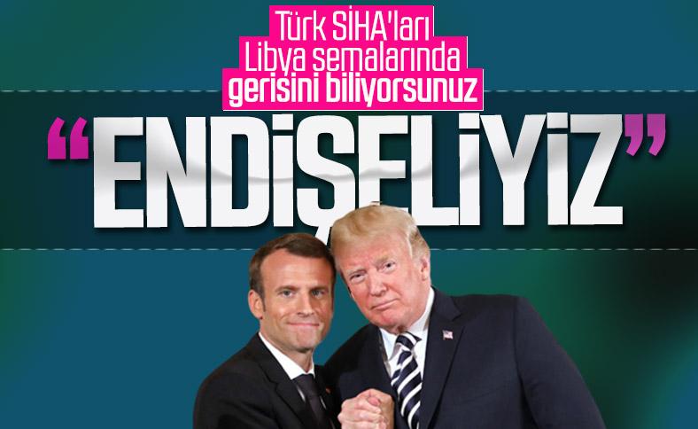 Trump ile Macron: Libya konusunda endişeliyiz
