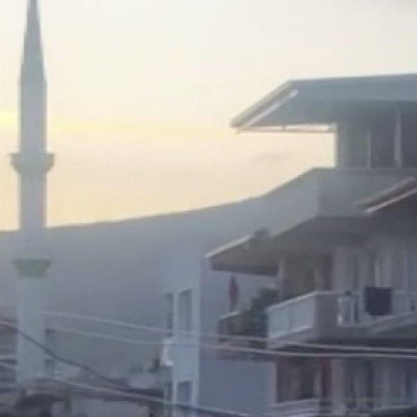 İzmir'de cami minaresinden ikinci şarkı yayını