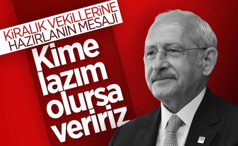 Kılıçdaroğlu'ndan milletvekili transferi sözü