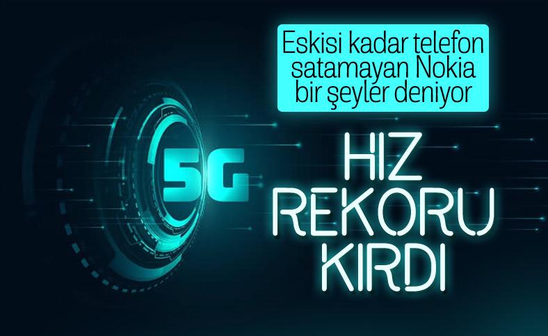 Nokia, dünyadaki en yüksek 5G hızına ulaştı