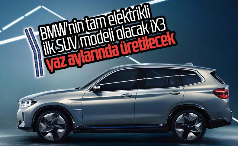 BMW, elektrikli SUV modelinin üretimine başlıyor