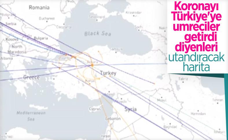 Koronavirüs Türkiye'ye ilk olarak ABD'den geldi